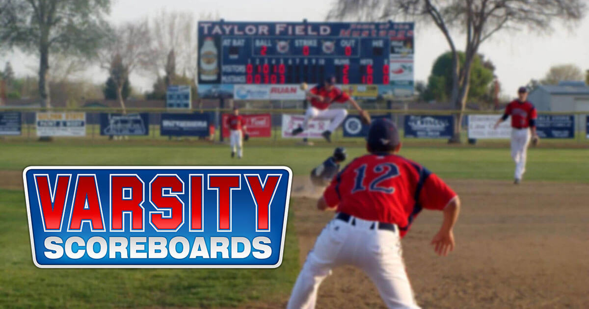 Save 33% or More on Indoor/Outdoor Scoreboards by Varsity ...