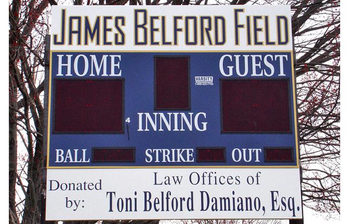 Varsity Scoreboards 3314 Baseball Scoreboard on