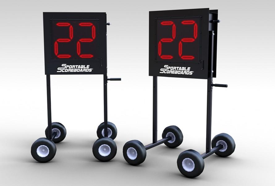 1200L Lacrosse Shot Clocks