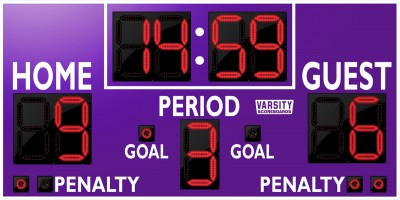 1232 Hockey Scoreboard