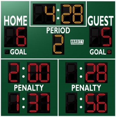 1240 Hockey Scoreboard