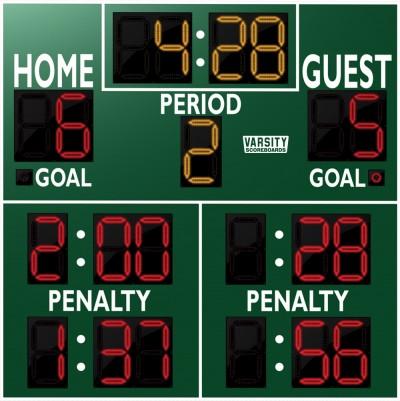 1240 Hockey Scoreboard