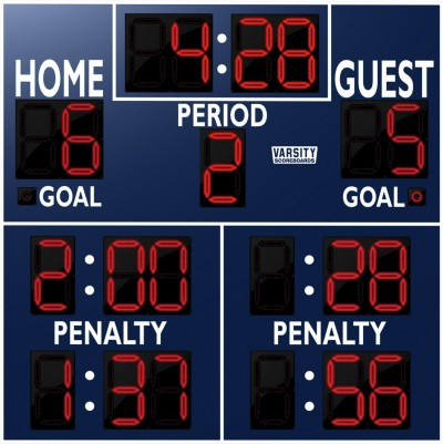 1242 Hockey Scoreboard