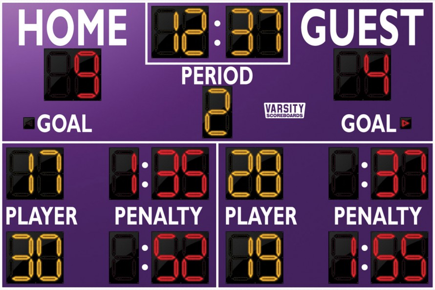 1250 Hockey Scoreboard