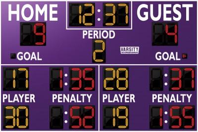 1250 Hockey Scoreboard