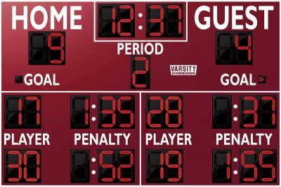 1252 Hockey Scoreboard