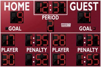 1252 Hockey Scoreboard