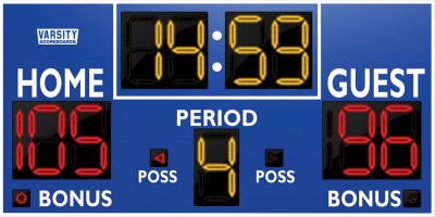 2230 Basketball/Multisport Scoreboard