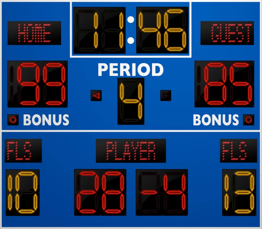 2250 Basketball/Multisport Scoreboard