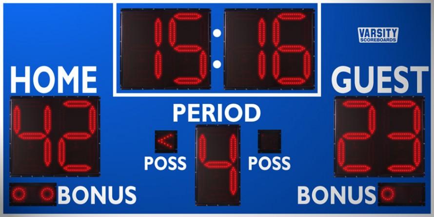 2232 Basketball/Multisport Scoreboard