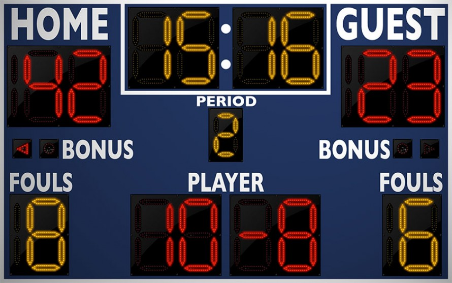 2246 Basketball/Multisport Scoreboard