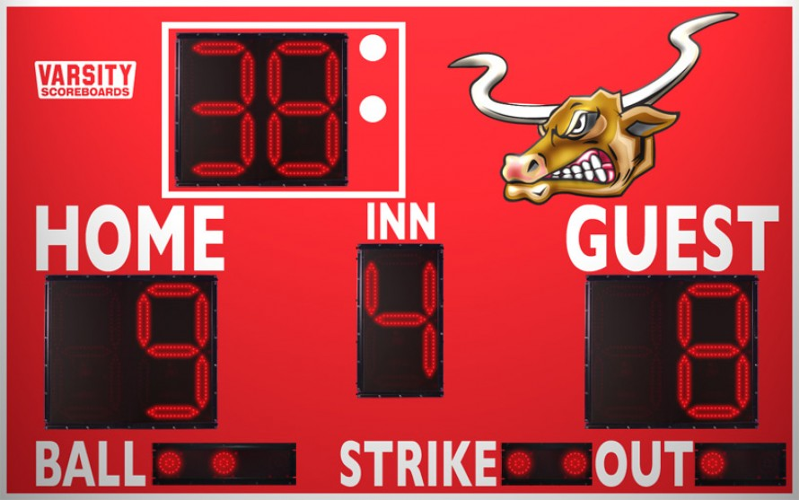 3311 Baseball/Softball Scoreboard