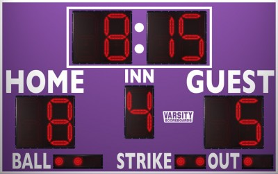 VSBX-312 Baseball/Softball Scoreboard