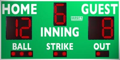 VSBX-314 Baseball/Softball Scoreboard
