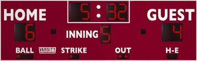 VSBX-315 Baseball/Softball Scoreboard