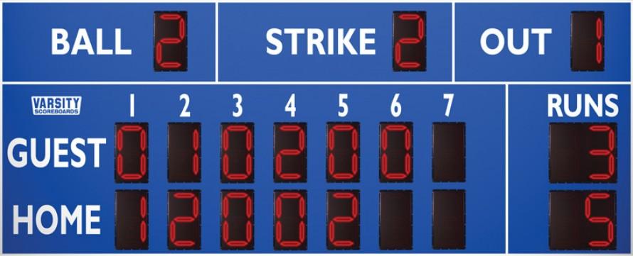 3316 Baseball/Softball Scoreboard