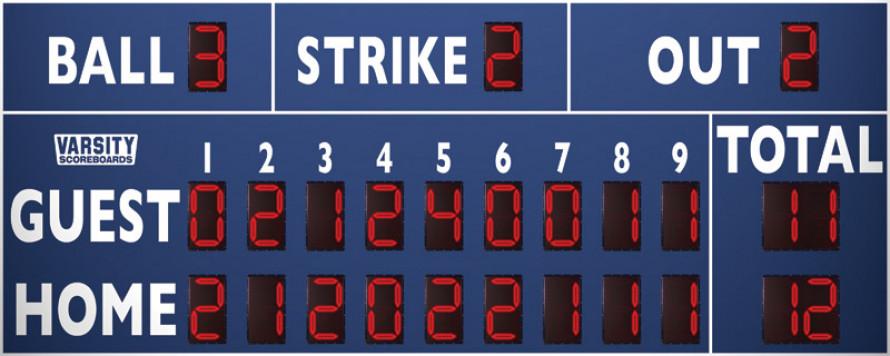 3320 Baseball/Softball Scoreboard