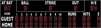 VSBX-328 Baseball/Softball Scoreboard
