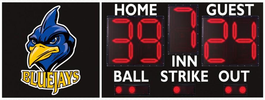 3306 Baseball/Softball Scoreboard