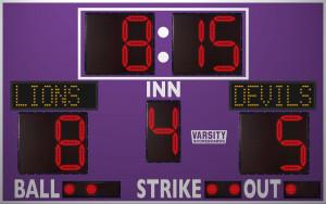 3312 Baseball/Softball Scoreboard