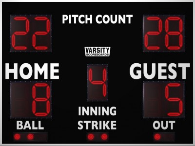 3312PC Baseball/Softball Scoreboard