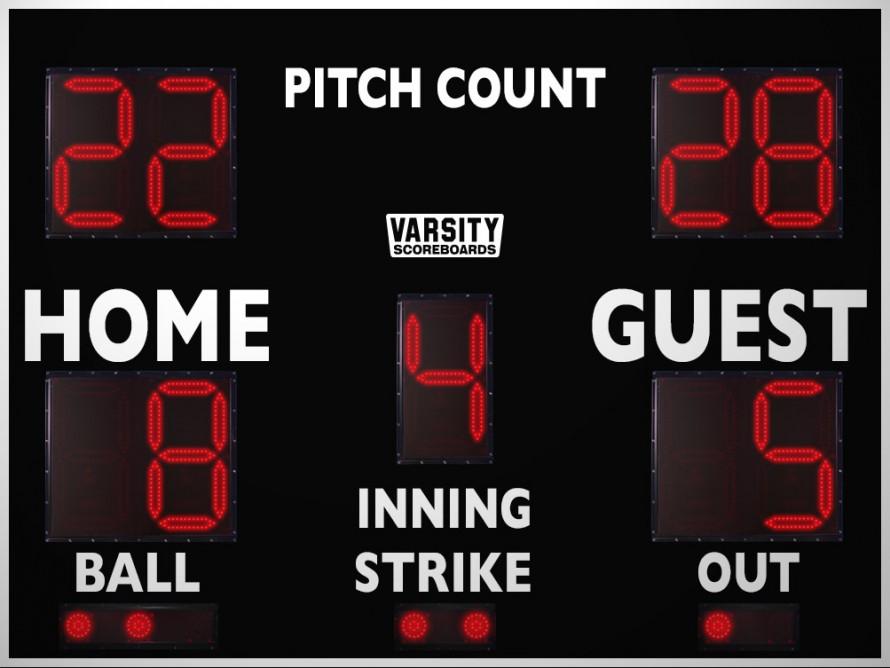 3312PC Baseball/Softball Scoreboard