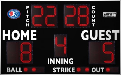 3312PC Baseball-Softball Scoreboard (LL)