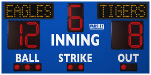 3314 Baseball/Softball Scoreboard