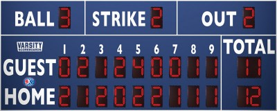 3320 Baseball-Softball Scoreboard (LL)