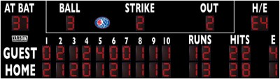 3328 Baseball-Softball Scoreboard (LL)