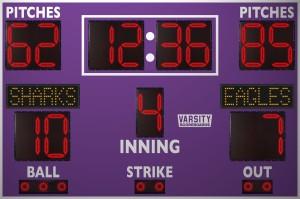 3355 Baseball/Softball Scoreboard