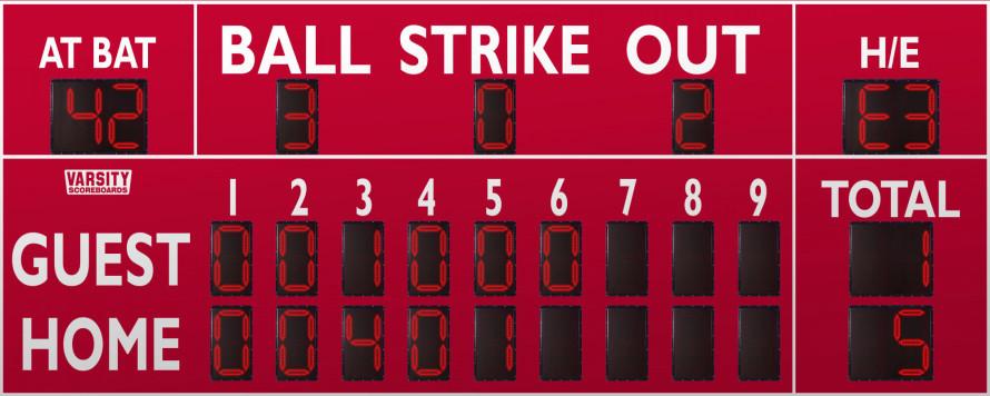 3358 Baseball/Softball Scoreboard