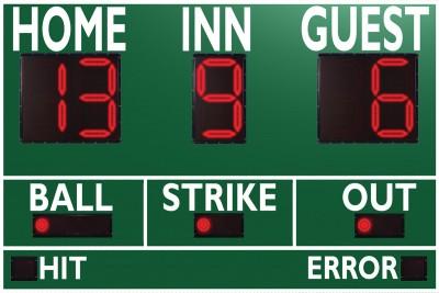 3365 Baseball/Softball Scoreboard