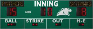 3385 Baseball/Softball Scoreboard