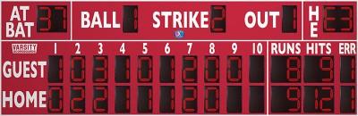 3394 Baseball-Softball Scoreboard (LL)