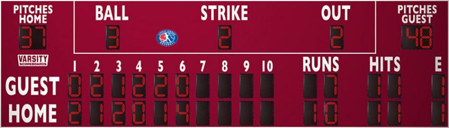 3398 Baseball-Softball Scoreboard (LL)