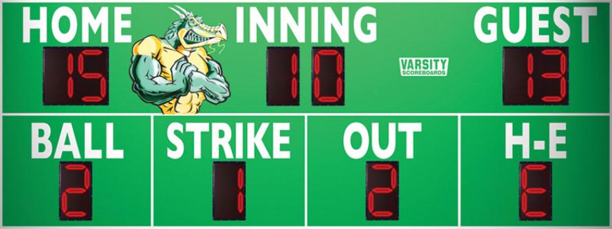 3388 Baseball/Softball Scoreboard