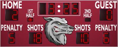 VSBX-642 Soccer/Multisport Scoreboard