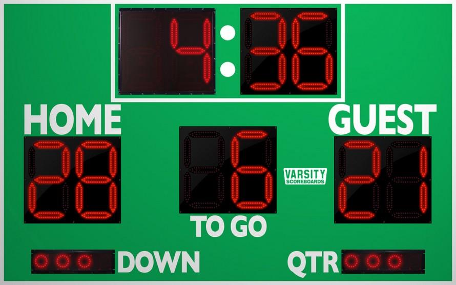 7150 Football Scoreboard