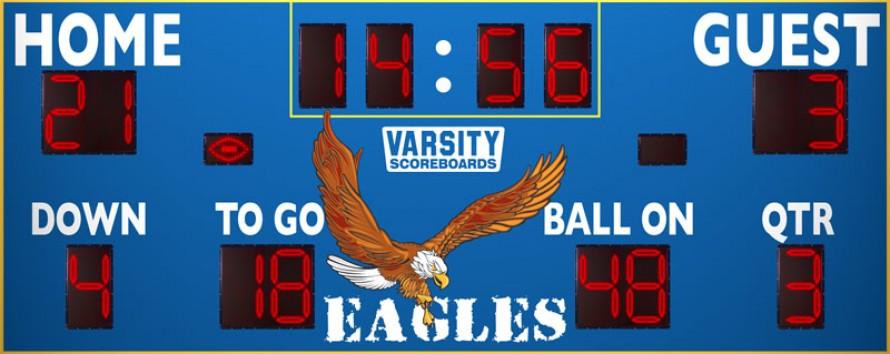 7420 Football Scoreboard