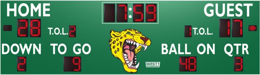 7436 Football Scoreboard
