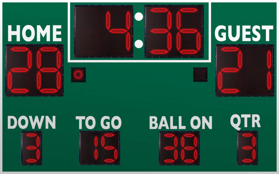 7450 Football Scoreboard