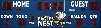 7428 Football Scoreboard