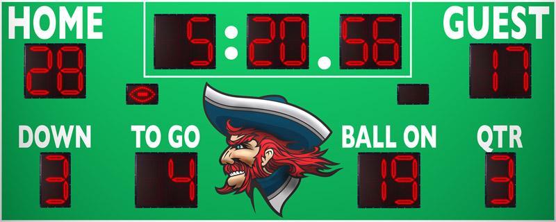 7520 Football Scoreboard