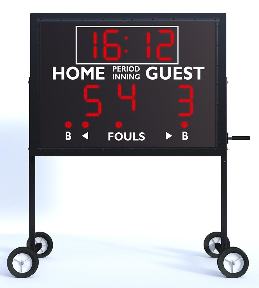 MS-4 Portable Multisport Scoreboard