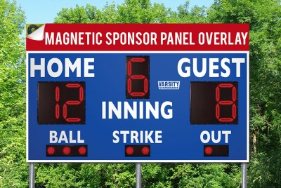 Magnetic Sponsor Panel Covers